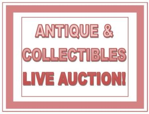 ANNUAL NEW YEAR'S ANTIQUE/COLLECTIBLES Auction (Dec. 29) @Nordic