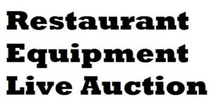 RESTAURANT EQUIPMENT AUCTION, (Mar. 21), @Nordic