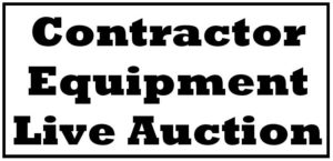 CONTRACTORS AUCTION, (Oct. 7) Bayfield, WI
