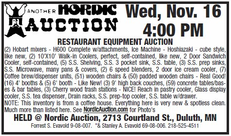 Auction ad