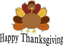 NO AUCTION THURSDAY (Nov. 28) HAPPY THANKSGIVING!