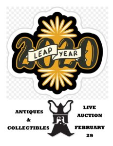 LEAP YEAR ANTIQUE/COLLECTIBLES LIVE Auction (Feb. 29) @ Nordic Auction | Duluth | Minnesota | United States