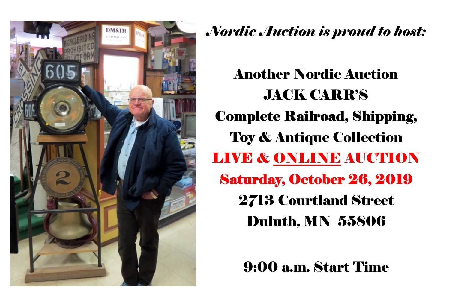 Jack Carr S Personal Collection Of Rr Shipping Toy Antiques Live Online Auction Oct 26