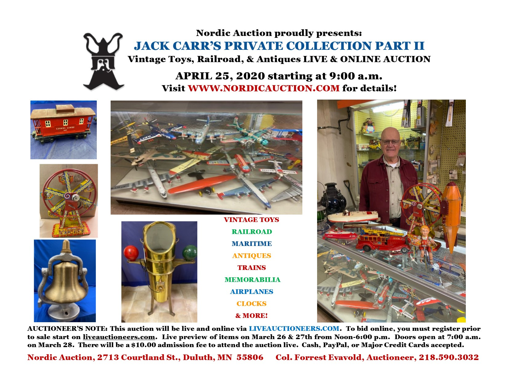 Mr. Jack Carr's Private Collection - Part II