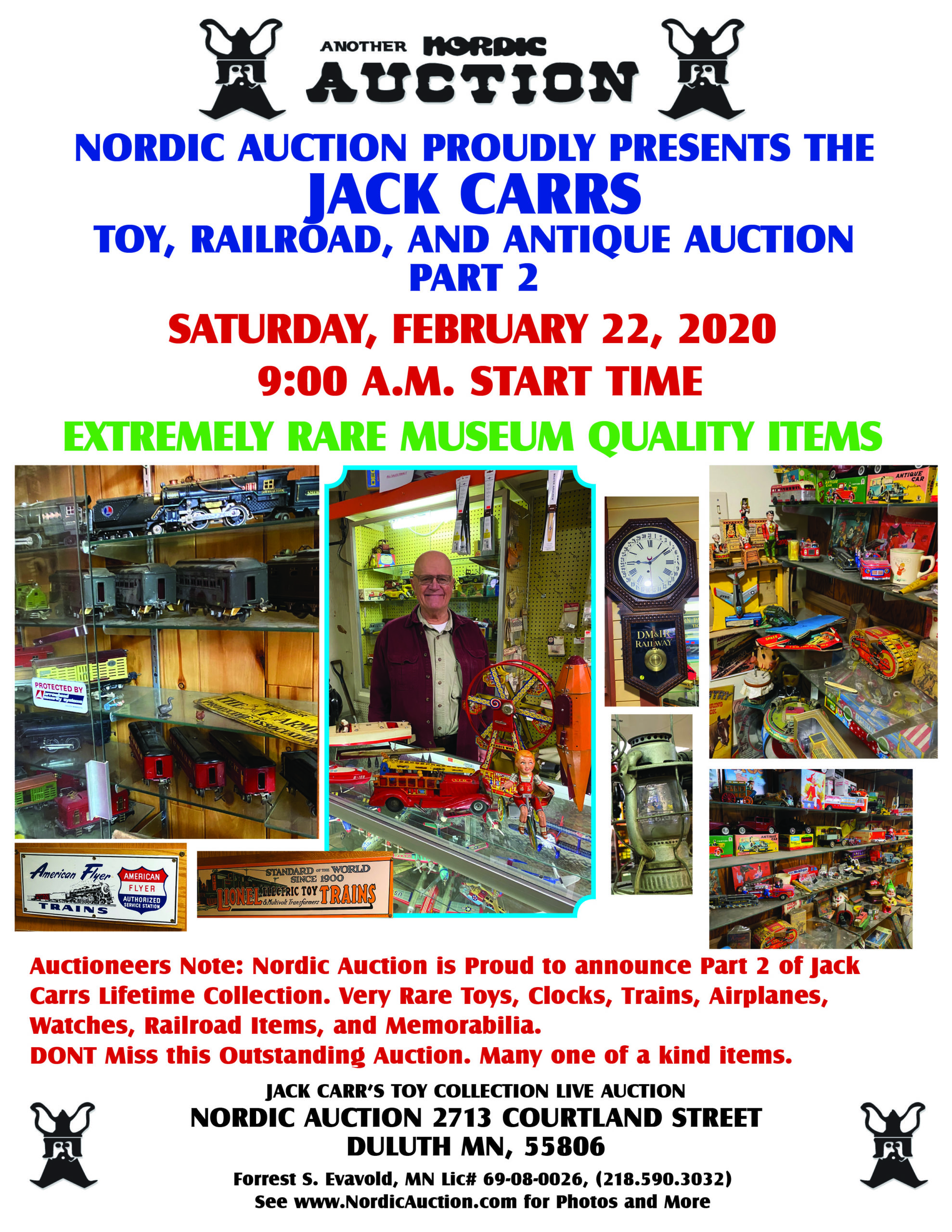 Mr. Jack Carr's Collection - Part II (Feb. 22)